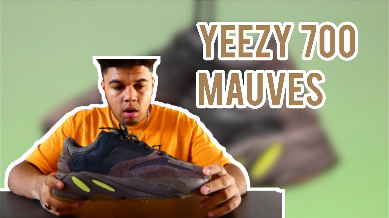 28fa3b9d1d1 YEEZY 700 MAUVES (UNBOXING) - YouTube
