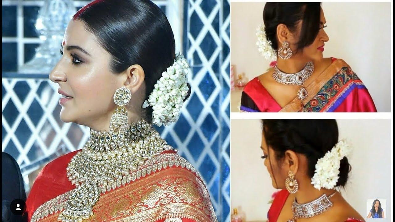 Anushka Sharma Reception Hairstyle Recreation