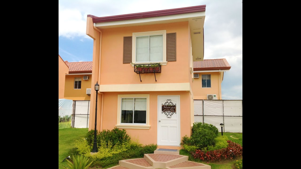 Marga house model lipa tanauan santo tomas taal for Houses models