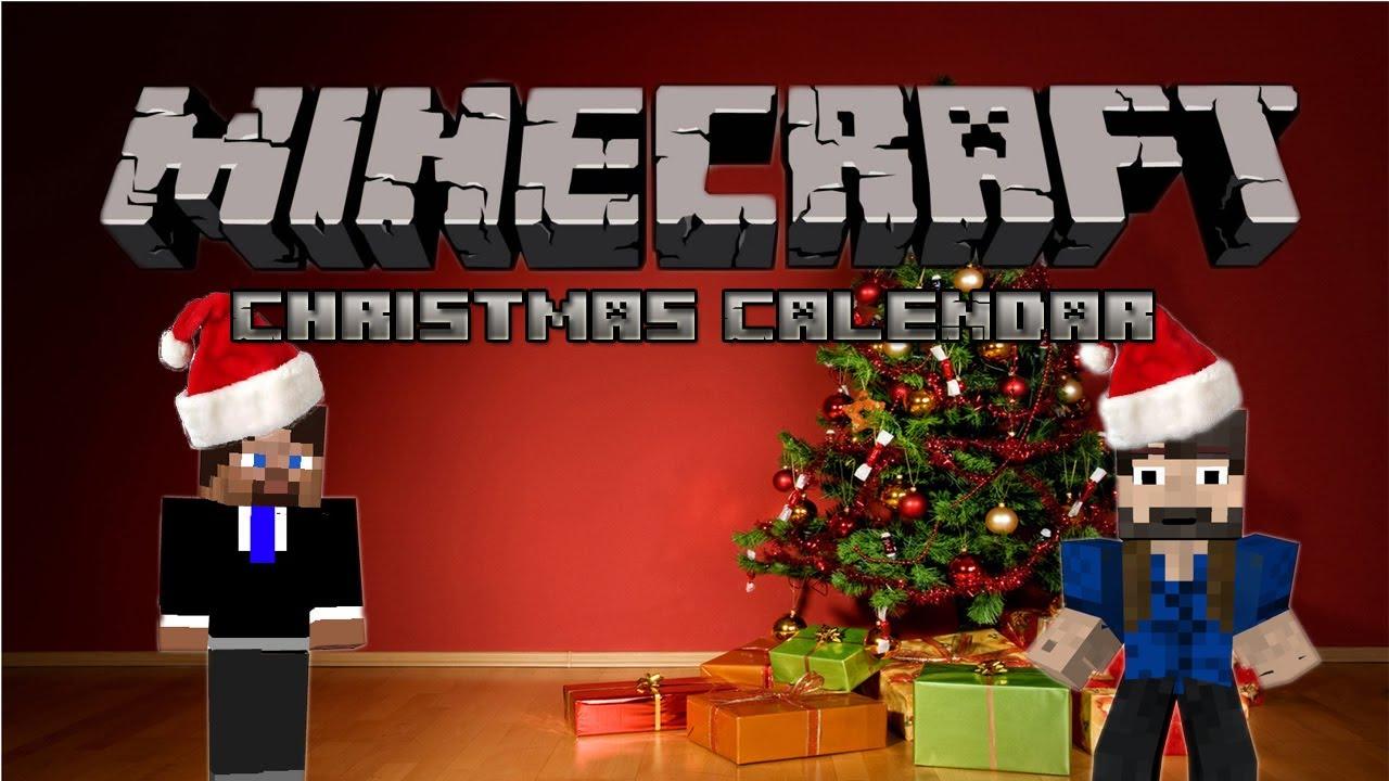 Christmas Calendar Minecraft : Minecraft christmas calendar Новогодняя карта youtube
