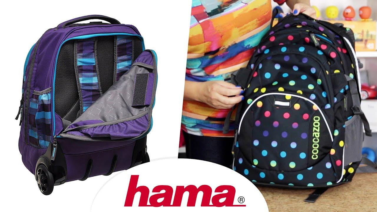Plecak szkolny młodzieżowy HASH w kwiatki HS-19 - plecaki