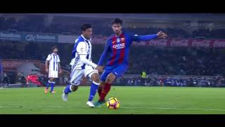 Carlos Vela vs Barcelona H 16-17 HD 720p