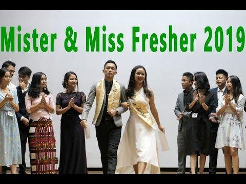 Fresher's Social_ Fresher's Mister & Miss Contest 2019.