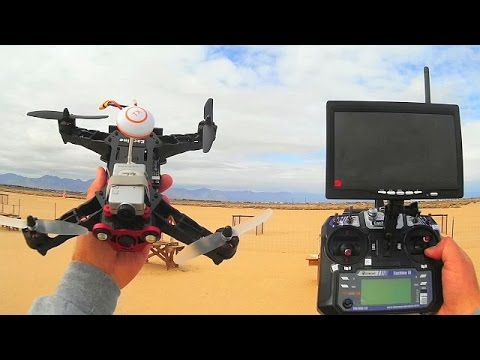 Eachine Racer 250 Drone Flight Test Review