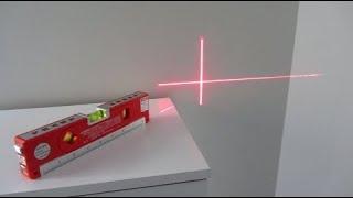 Laser Level Pro 4 Beam LED Light