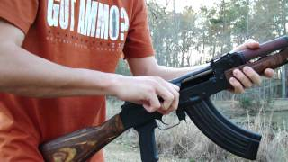 Egyptian Maadi AK 47