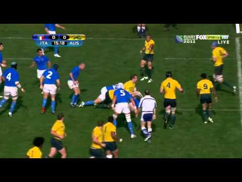 Australia vs Italy 2011 1st half