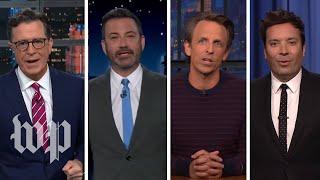 Late-night hosts react to Biden-Putin summit