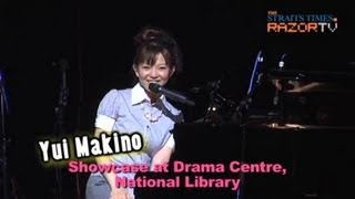Japanese anime singer-actress Yui Makino was in town on Boxing Day ...