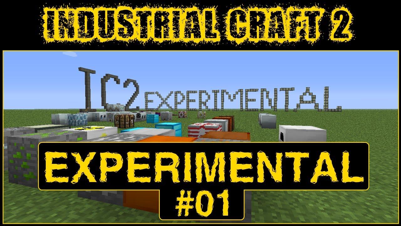 Обзор Industrial Craft 2 Experimental !!! [Часть 1] - YouTube