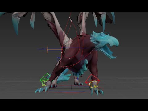 Crowfall - Creature animation with Nicholas McBride