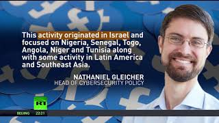 Israeli group tried to disrupt elections on 3 continents for YEARS – Facebook