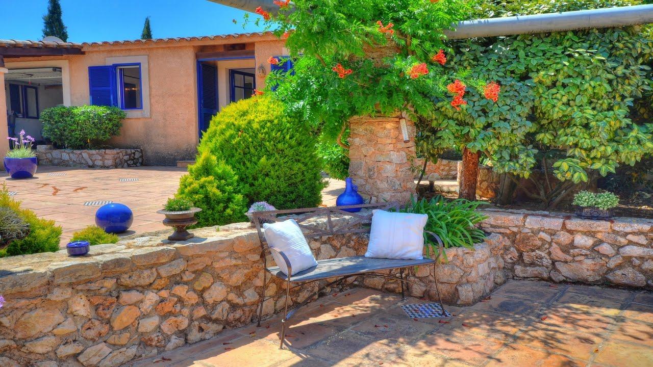 jardines de casas de campo the image