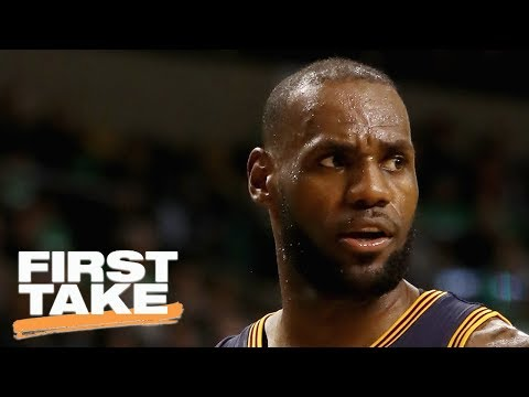Will NBA Finals Be LeBron's Toughest Challenge?   First Take   May 29, 2017