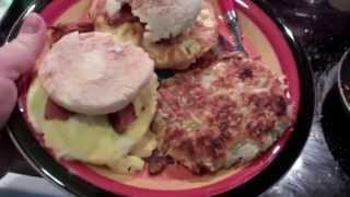 Bacon Egg & Cheese Muffins W/ Hashbrowns
