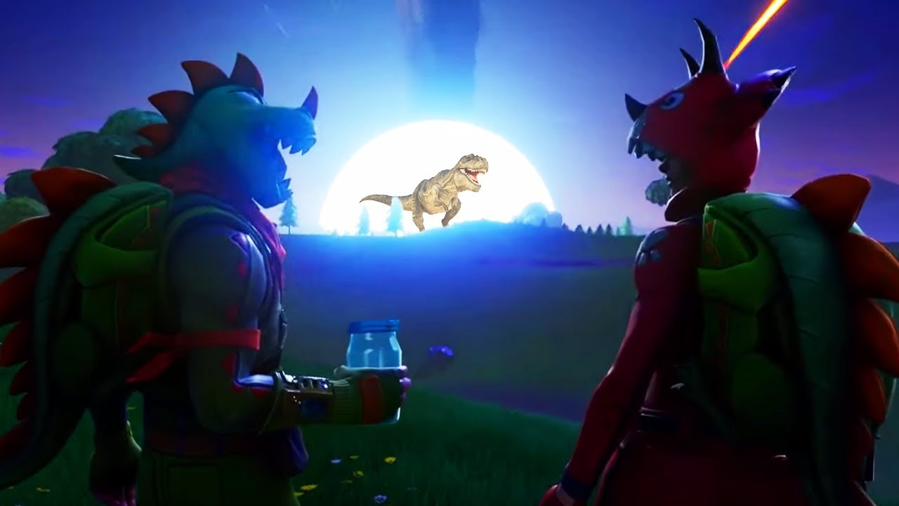 The TRUTH About The DINOSAUR Footprint In Fortnite HUGE