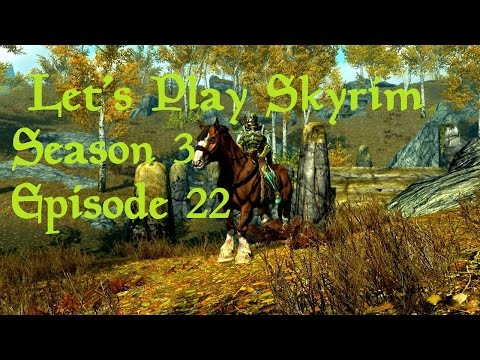 Let's Play Skyrim (Falskaar) - Season 3 Episode 22 - Wake Up the Dead