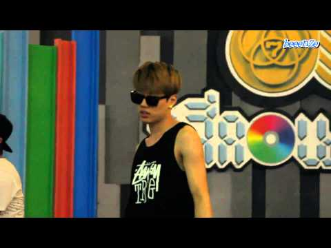 [FANCAM] 130809 SHU-I (MinHo Focus) - Don't Be Down (Rehearsal)