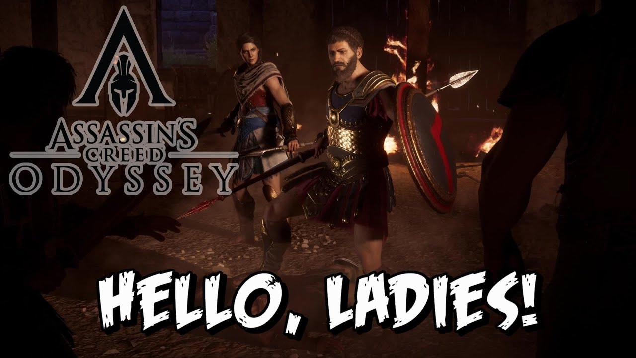 Assassins Creed Odyssey - Hello, Ladies! - YouTube