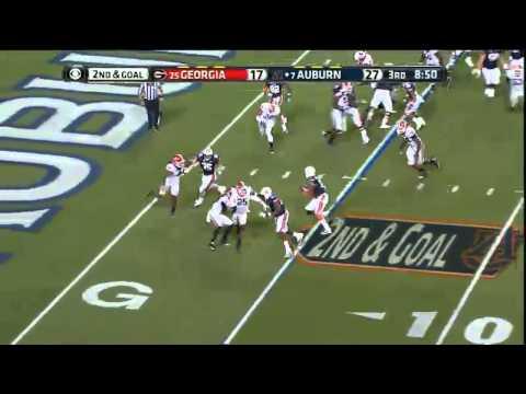 11/16/2013 Georgia vs Auburn Football Highlights - YouTube