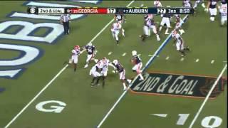 11/16/2013 Georgia vs Auburn Football Highlights