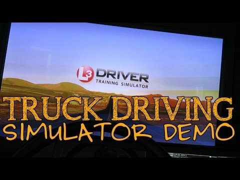 Truck Driving Simulator Demo | Allie Knight