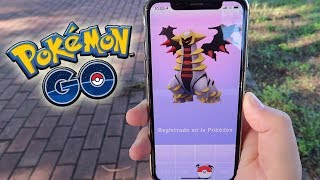 ¡CAPTURO GIRATINA! NUEVO POKÉMON LEGENDARIO de 4GEN en Pokémon GO!! [Keibron]