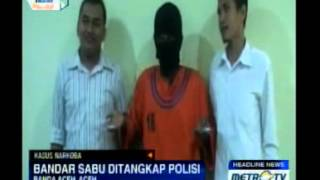 Polda Aceh Ciduk Bandar Sabu-sabu
