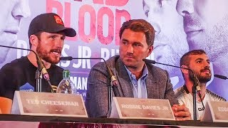 Robbie Davies Jr vs Lewis Ritson FIERY FULL PRESS CONFERENCE | Matchroom Boxing