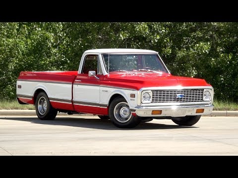 1972 Chevrolet C10 Cheyenne Super FOR SALE / 136164