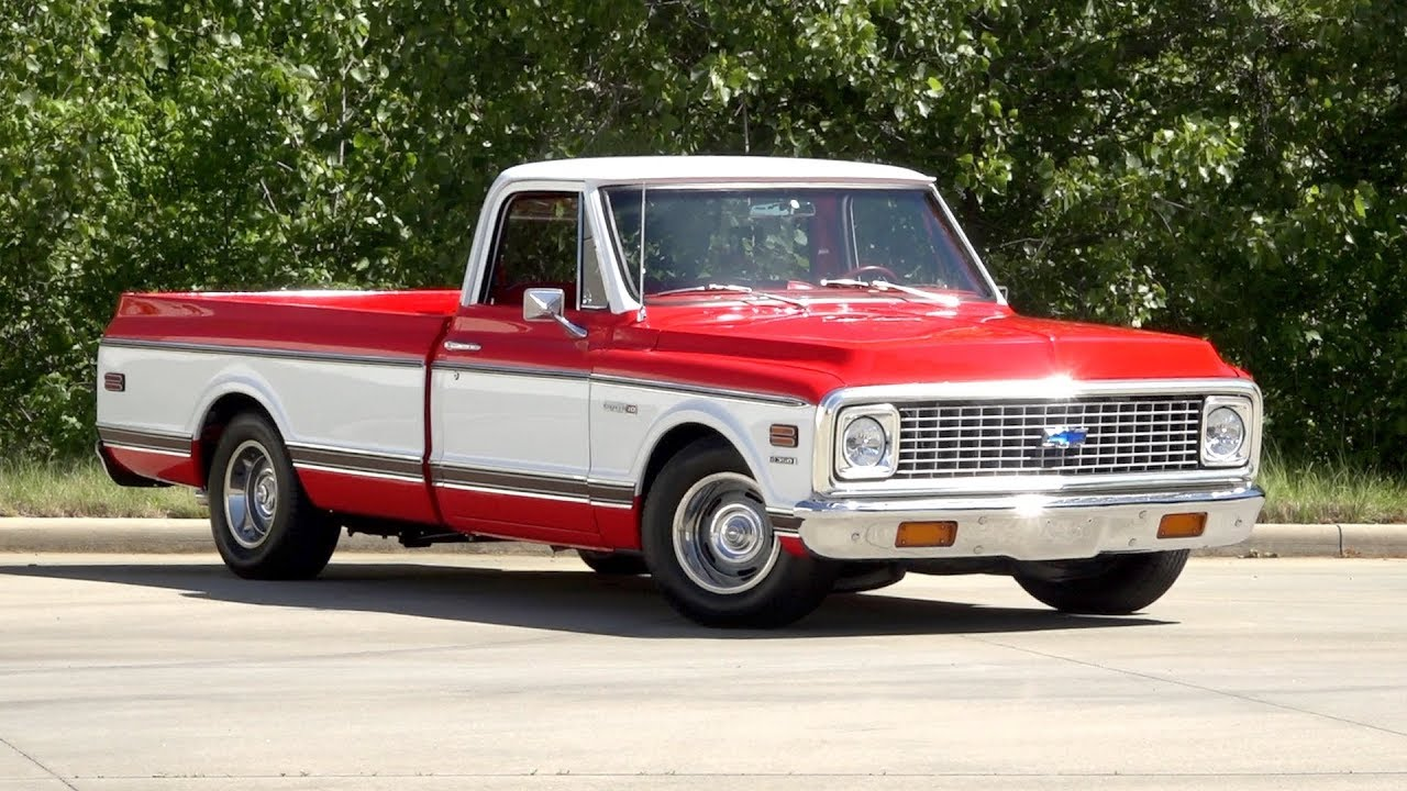 1972 Chevrolet C10 Cheyenne Super For Sale 136164