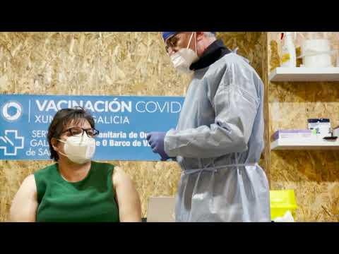 La campaña de vacunación se acelera esta semana en Ourense