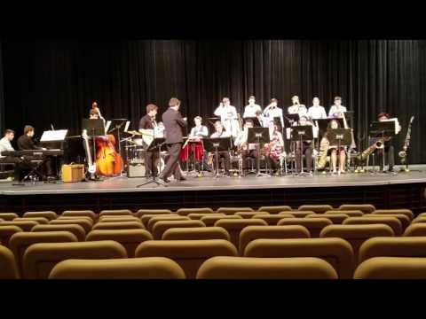 Viera High School jazz band MPA performance Feb 16, 1017