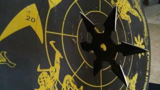 How to Throw a Ninja Star or Shuriken