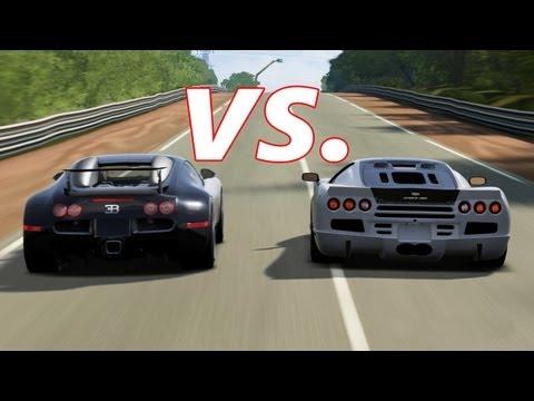 FORZA 4 | SSC Ultimate Aero vs. Bugatti Veyron and Veyron SS