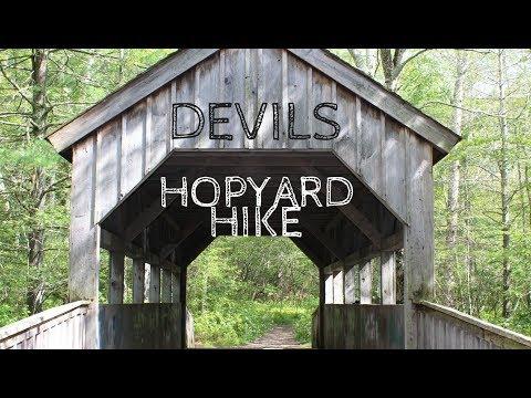DEVILS HOPYARD HIKE / East Haddam CT