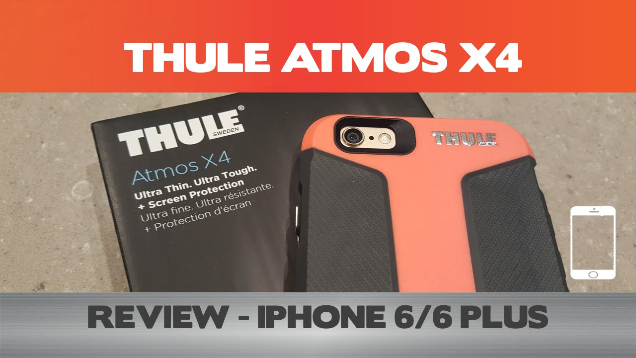 30dead8b3b202f Loving this iPhone case! - Thule Atmos X4 Review - iPhone 6 cases - YouTube