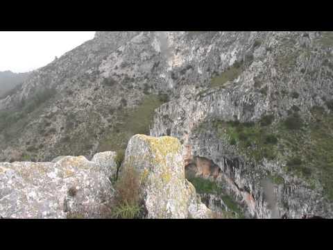 L'Arc de Santa Llúcia i Barranc del Castell. Penàguila #PaísValencià