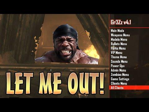 Black Ops 2 Zombie Trolling!! (Mod Menu Funny Trolling)
