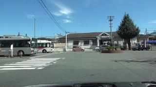 埼玉県道189号 01 小川町停車場線 小川→小川町駅 車載