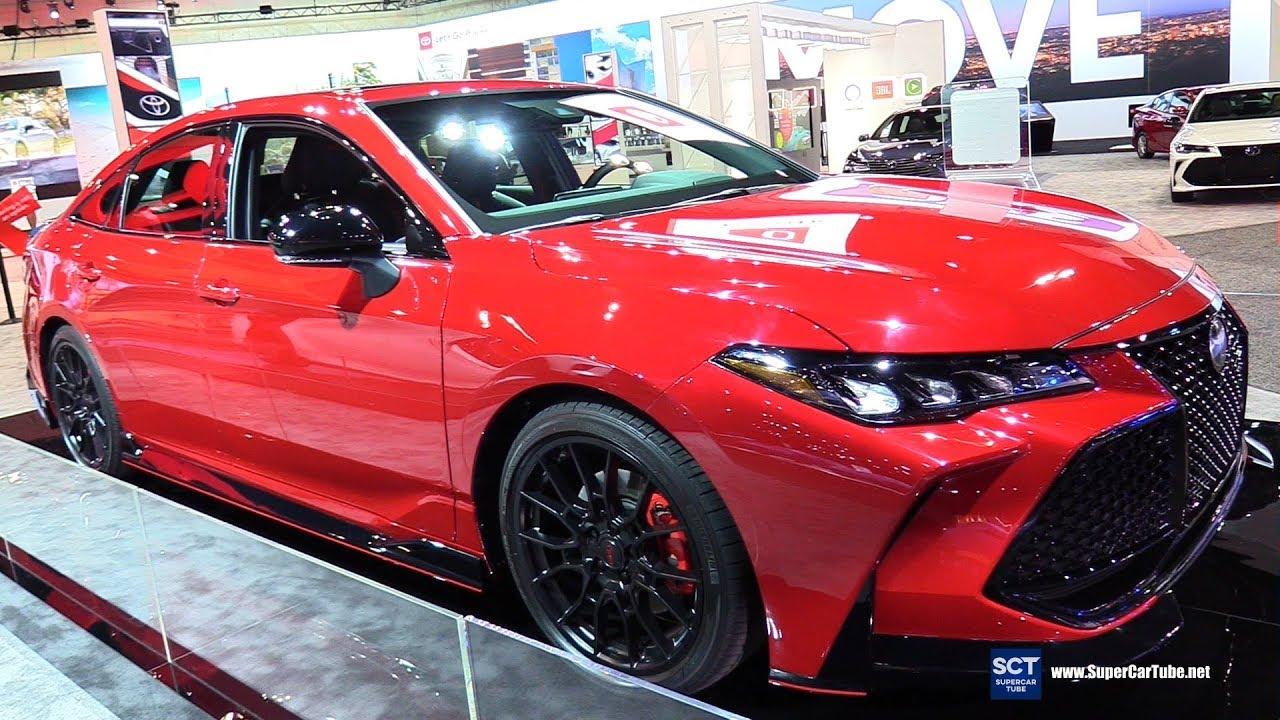 2020 Toyota Avalon Trd Exterior And Interior Walkaround 2018 La Auto Show Youtube