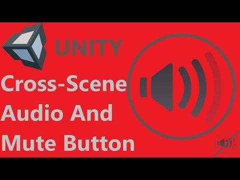 Unity Cross Scene Music/Audio and Mute Button
