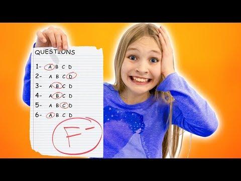 Amelia Fails Her Exam, Dad To The Rescue!