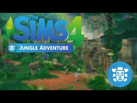 The Sims 4 Jungle Adventure Fragman İncelemesi!! 🗿🐜🐝⛺