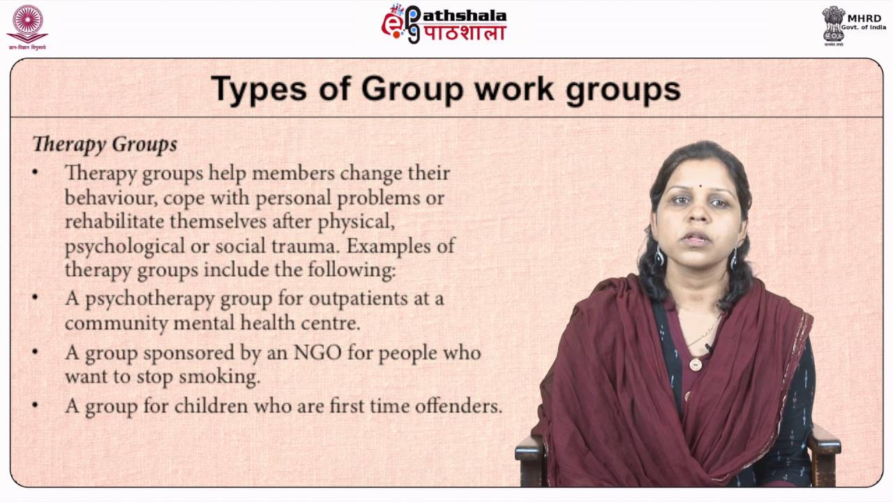 Types of Social Work Groups