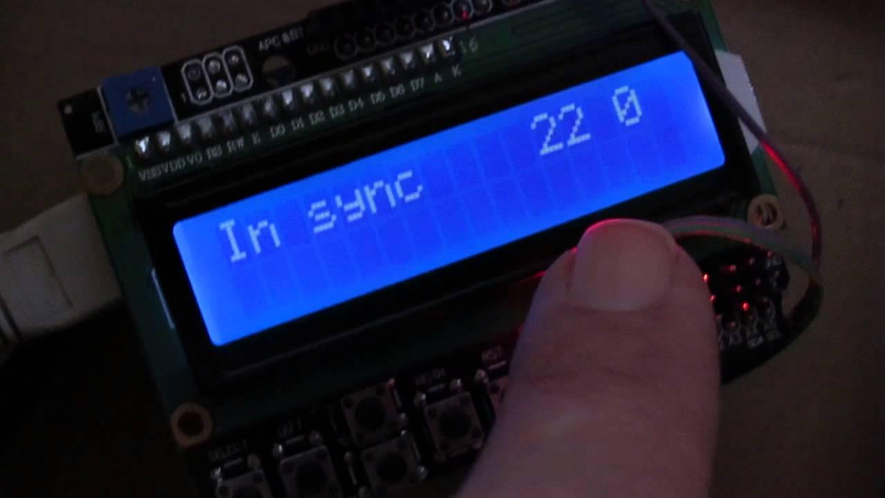 Arduino based WWVB receiver / decoder