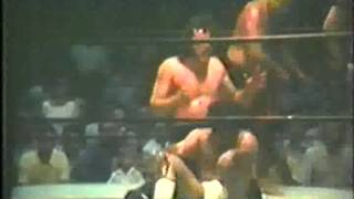 1970s Rodriguez/Johnny & Ricky Fields vs Scorpion/Myers/Kent Memphis Wrestling Matches