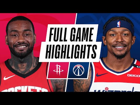 ROCKETS at WIZARDS | FULL GAME HIGHLIGHTS | February 15, 2021