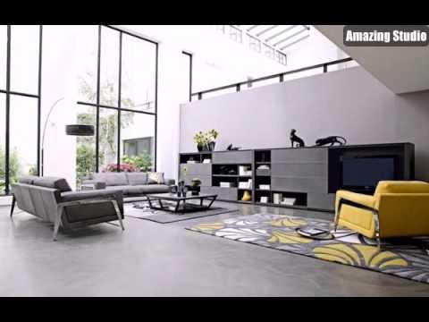 Moderne Wohnzimmer Möbel Elegant Dekor Stil