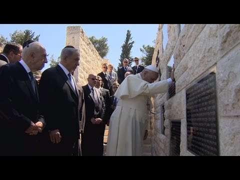 Pope Francis in Israel - The 2nd day of the visit